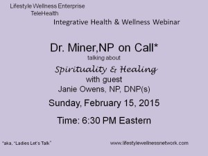 NP on Call: Spirituality and Healing