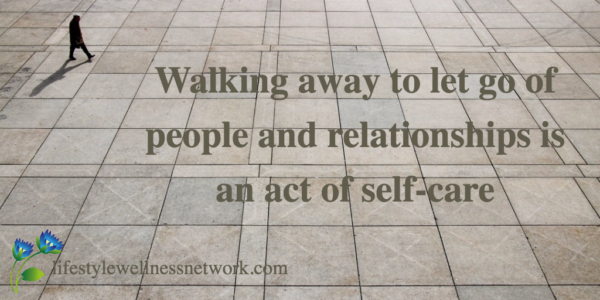 walk away let go